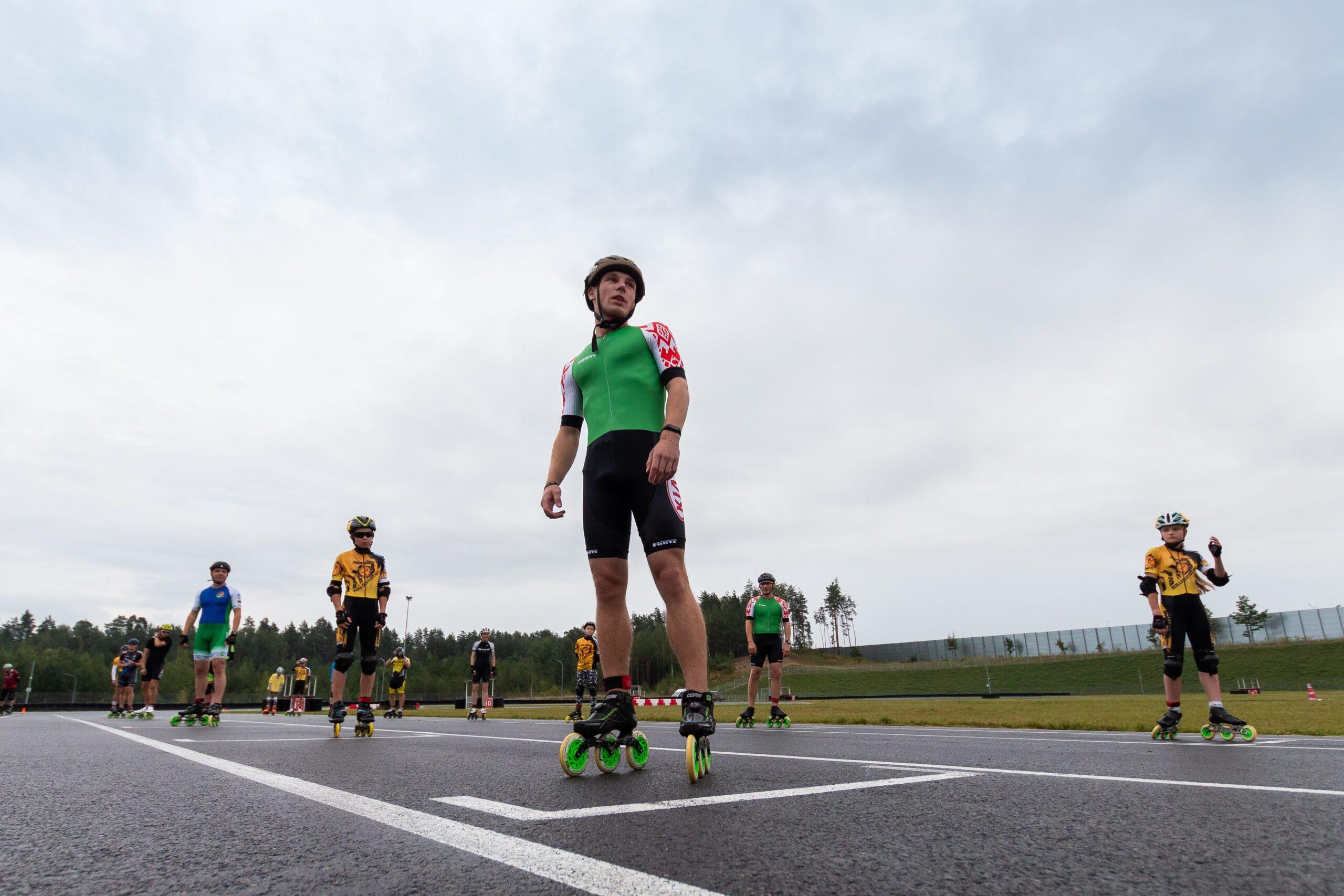 Минская роллер гонка 3 часа 2020
